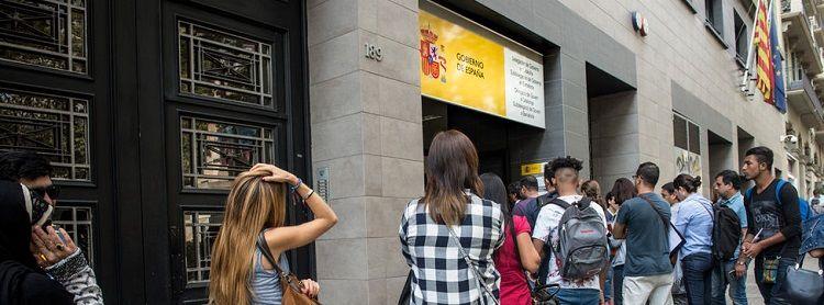 Oficinas de extranjer a en espa a nie for Oficina de hacienda madrid